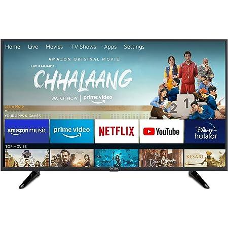 Onida 108 cm (43 Inches) Fire TV Edition Full HD Smart LED TV 43FIF1 (Black) (2020 Model)