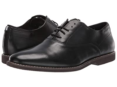 Steve Madden Waldorf (Black Leather) Men
