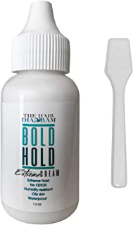 Bold Hold Extreme Cream Adhesive for Lace Wigs and Hair pieces | Lace Glue | Wig Glue (original) + SMOOTHING STICK