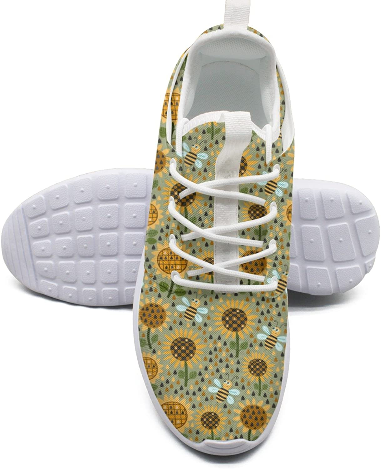 ERSER How to Plant Sunflowers Neutral Running shoes Women