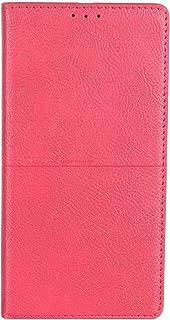 جراب محفظة جلد قابل للطي لموبايل هونر 8C من ريتش بوس - احمر