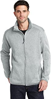Port Authority Men's Sweater Fleece Jacket
