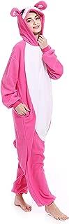 Christmas Story Bunny Adult One Piece Pajamas Cosplay Costumes Rabbit Sleepwear for Men Women