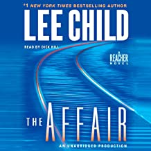 the affair lee child audiobook