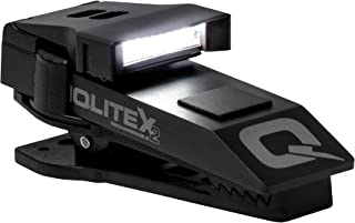 QuiqLite X2 Tactical Aluminum Hands Free Pocket Concealable Flashlight | White and Red LEDs | 20 to 200 Lumens USB Rechargeable