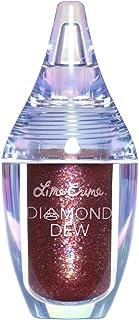 Lime Crime Diamond Dew Glitter Eyeshadow, Chameleon - Iridescent Burgundy Lid Topper - Reflective Sparkle Shadow for Lids,...