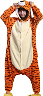 Tiger Halloween Party Costume Kigurumi Cartoon Outfit Homewear