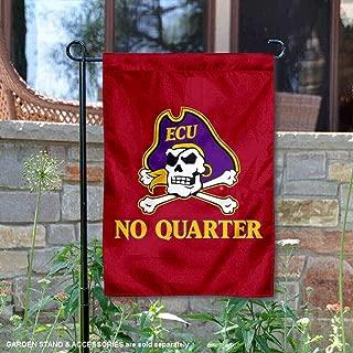 College Flags and Banners Co. East Carolina Pirates No Quarter Garden Flag