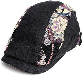 品 ハンチング 和柄 メッシュ CAP 帽子