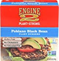 Engine 2, Poblano Black Bean Plant Burgers, 3 ct, (Frozen)