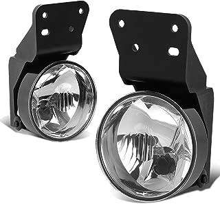 For Pontiac Grand AM Pair of Bumper Driving Fog Lights (Clear Lens)