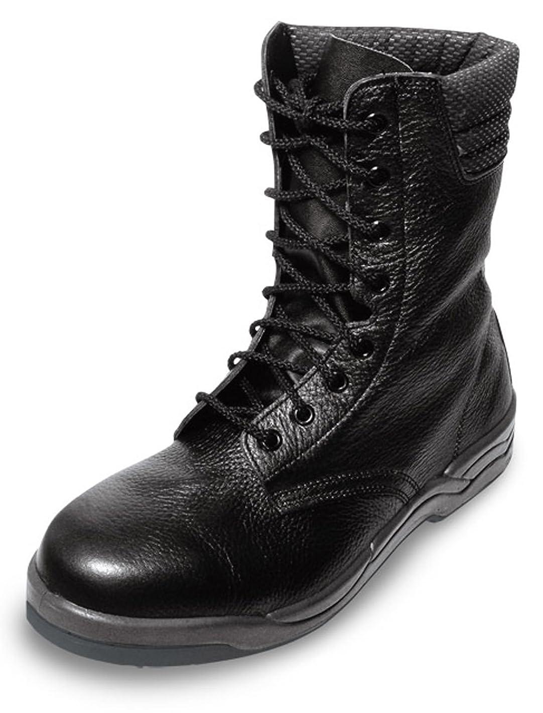 グラム敬意を表する隙間JIS規格【ウレタン2層底安全靴】 軽くて動きやすい半長編上《074-KF1077》