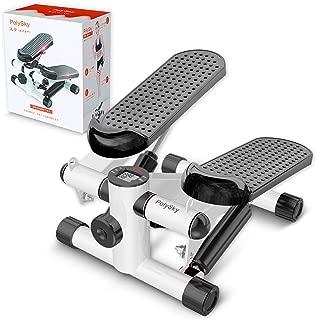 3Dステッパー PolySky フィットネスマシン 踏み台 運動 室内 エクササイズ 有酸素運動 日本語取扱説明書付き