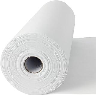 50 lfm Madeira Stickvlies, Reißvlies in weiß, 50 g/m2, 30 cm breit, Cotton Soft, mittelschwere Stoffe, ohne Kleber - Stickvlies!