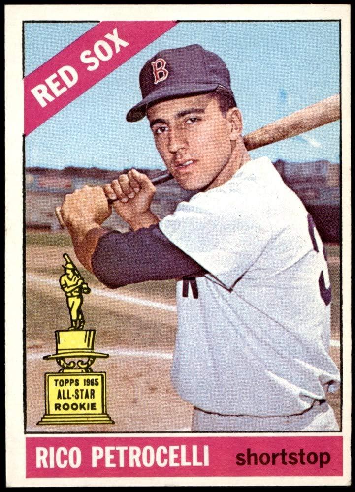 Genuine 1966 Topps Super intense SALE # 298 Rico Petrocelli Baseball Red Card Boston Sox