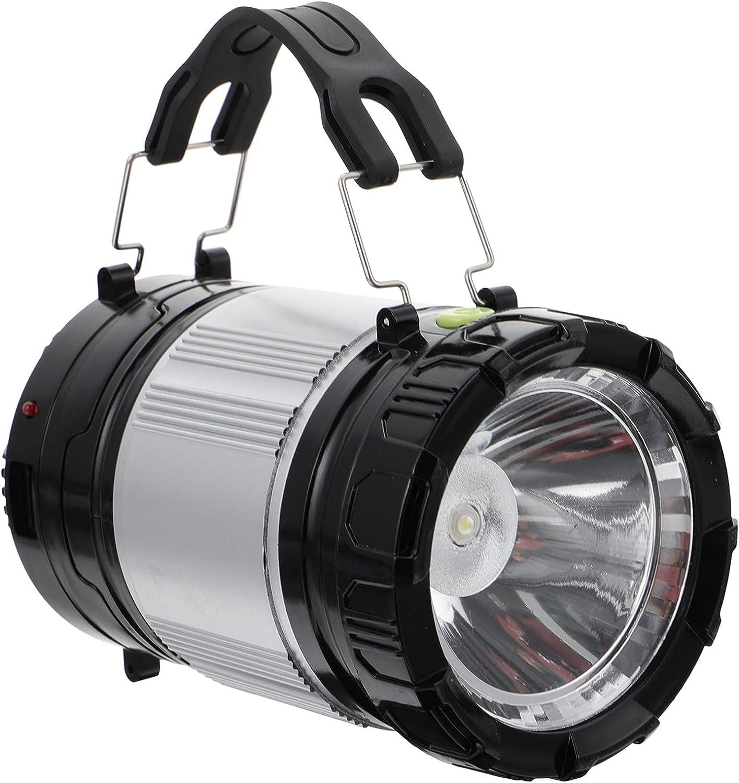 Amosfun Solar LED Camping Lantern Great interest Waterproof Fresno Mall Tent Emergenc Light