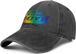 Women Girls Men Baseball Cap Cute Adult Team-Hoyt-Archery-Gay-Pride-Rainbow- Adjustable Sandwich Baseball Cap Sun Hat