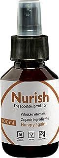 Appetite Stimulant by Nurish I Organic Appetite Stimulant 100ml I Alternative to Protein, Protein Powder and Diet Pills I ...