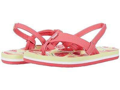 Reef Kids Little Ahi (Infant/Toddler/Little Kid/Big Kid) (Watermelon) Girls Shoes
