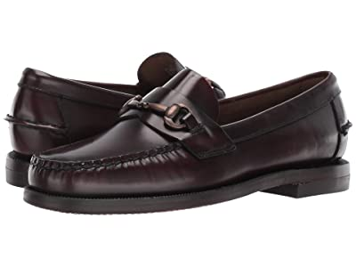 Sebago Classic Joe (Brown/Burgundy) Women