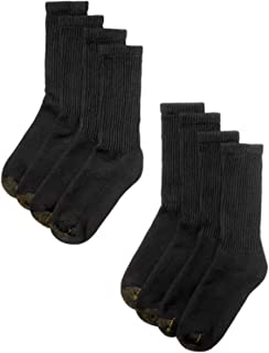 Gold Toe Men's 8-Pack Crew Socks