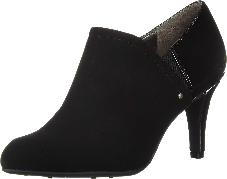LifeStride Womens Octavia Mid-Heel Shooties Ankle Boot