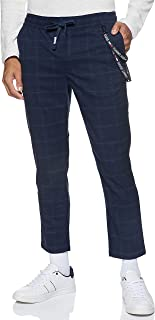 Tommy Jeans mens TJM Scanton Checked Track Pant Pants