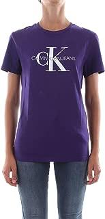 Calvin Klein Women's J20J207963-Purple T-Shirts