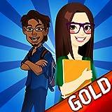 quadrinhos nerds livro: a loja busca super-heróis saga - Edição de ouro