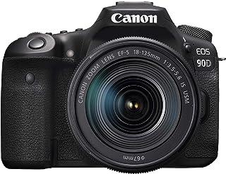 Canon 90D Digital SLR Camera with 18-135 IS USM Lens - Black