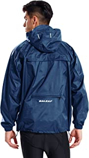 BALEAF Unisex Rain Jacket Packable Outdoor Waterproof Hooded Pullover Raincoat Poncho