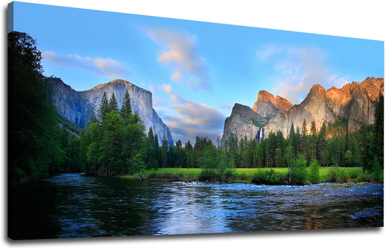 Canvas Wall Art Panorama of Valley 2021 model Painting Artw favorite Yosemite