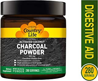 Activated Charcoal Country Life 5 oz Powder