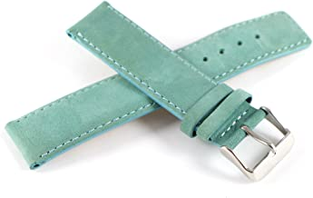 Lucien Piccard 20MM Genuine Suede Leather Watch Strap 7.5