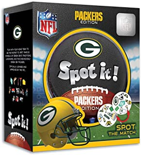 Green Bay Packers Spot It!, Multi, One Size, Model: 41751