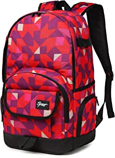 PEEJESUSSAR Unisex Backpacks for College Middle School Women's Travelling Casual Daypacks Fits 15.6in Laptop Bags
