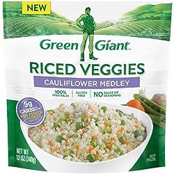 Green Giant Riced Veggies Cauliflower Medley, 10 oz (Frozen)