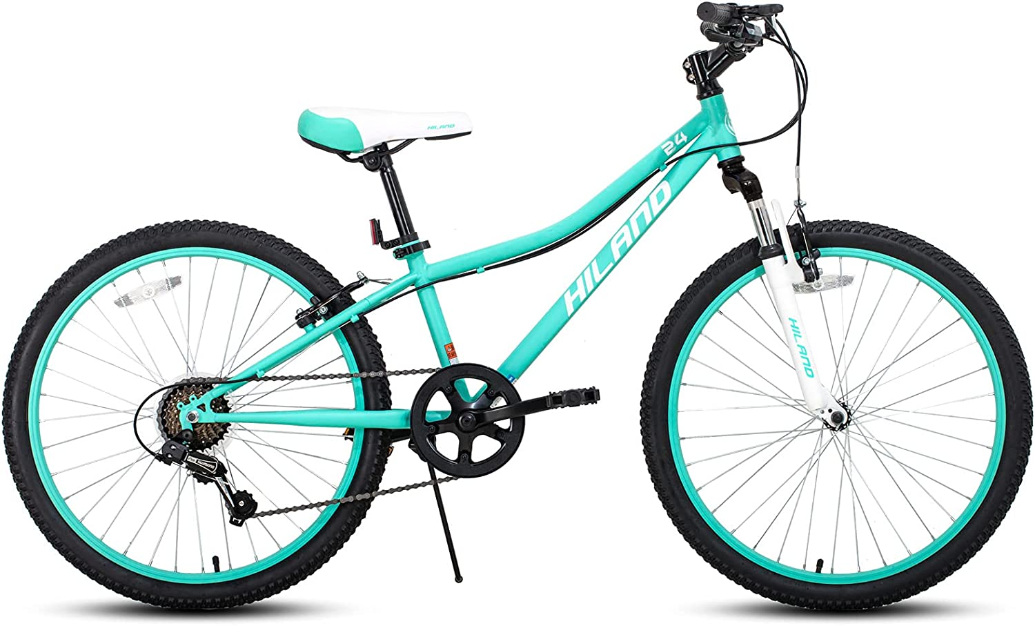 Hiland Animer and price revision 20 24 Inch Mountain Bike 7-Speed for Youth New Shipping Free Kids Shimano