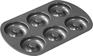 Satisfactory Nation Aluminium Donuts Maker Molds Muffin Moulds Black Colour Baking Tray Kitchen small Accessiory