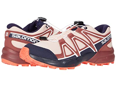 Salomon Kids Speedcross (Little Kid/Big Kid) (Tropical Peach/Apple Butter/Living Coral) Kids Shoes