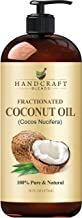 Fractionated Coconut Oil – 100% Pure & Natural Premium Therapeutic Grade - Coconut Carrier Oil for Essential Oils, Massage...