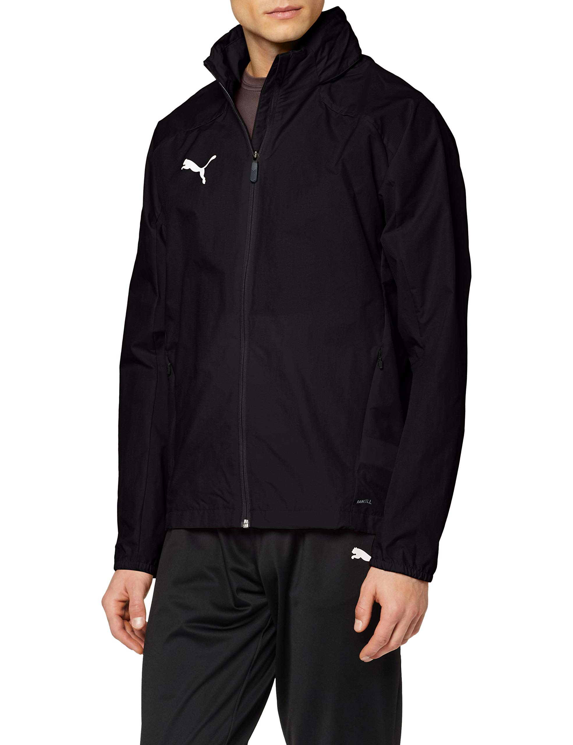 PUMA Herren Liga Training Rain Jacket, schwarz(PUMA Black/PUMA White), XL