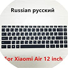 Russian Keyboard Stickers Silicone Spanish Keyboard Cover Compatible for Xiaomi Mi Notebook Air 12.5 13.3 Pro 15.6 Skins Protector Film