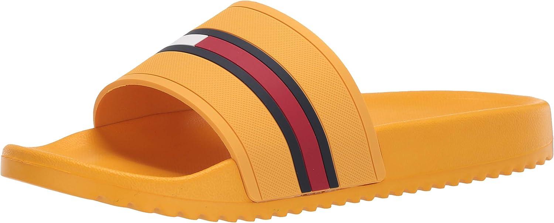 Tommy Hilfiger Men's Slide Redder free Limited time for free shipping Sandal
