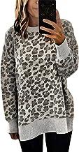 UK Womens Leopard Lips Hoodies Sweatshirt Long Sleeves Jumper Pullover Tops 6-18