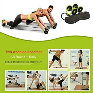 Beette 2019 Power Roll Ab Trainer Abdominal and Full Body Workout Gym Fitness