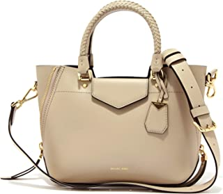 MICHAEL Michael Kors Blakely Medium Cross-Body Bag in Oat