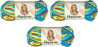 Hipster Yarn Premier Yarns, Parasols Color, Deborah Norville Collection Amazon, 3 Pack