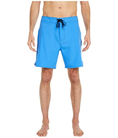 Hurley 18 Phantom One Only Boardshorts (Pacific Blue) Men