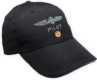 DESIGN 4 PILOTS Microfiber Cap Embroidered Pilot Wing, hat Cap Pilot Gift